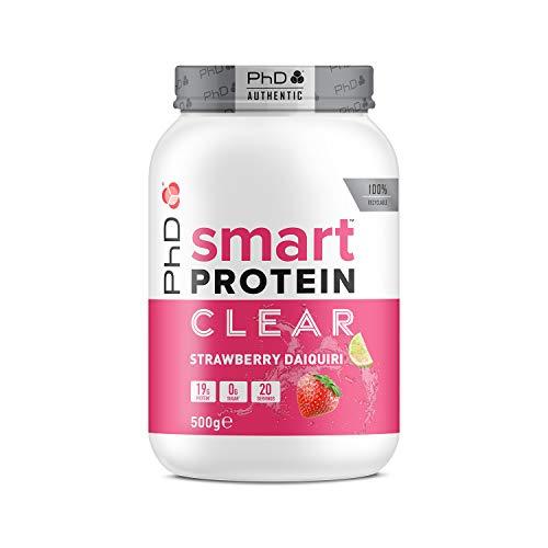 PhD Nutrition Smart Potein Clear, Strawberry Daiquiri, 500 g