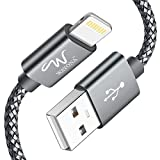 Wayona Nylon Braided USB Data Sync & Charging Cable for iPhones, iPad Air