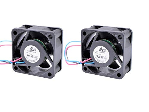 HP 2810-24G Set of 2x Quiet Fans for HP ProCurve 2810-24G (J9021A) 24dBA Best for Home Networking