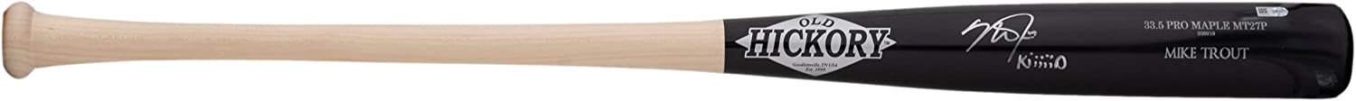 Mike Trout Signed Old Hickory Directly managed store Bat Kiiiii Baseball Memphis Mall Player's Model