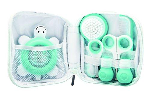 Bébé Confort Trousse de Toilette pour Bébé, Inclut un Thermomètre, des Ciseaux, un Coupe-Ongles, un Peigne et...