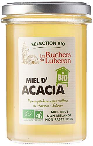 Les Ruchers du Luberon Miel Bio d'Acacia 370 g