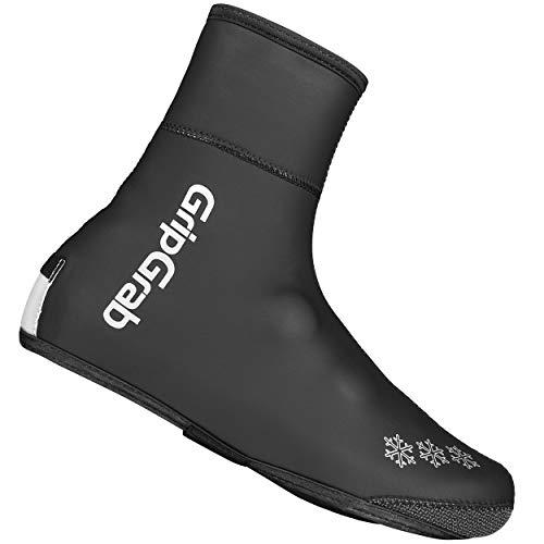 GripGrab Unisex-Adult Arctic Waterproof Deep Winter Überschuhe Fahrrad, Black, (48/49)