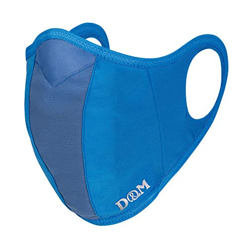 D&M サポーターメーカーのランナーマスク (1ヶ入り)日本製 サックス L:大人用ふつう #109530