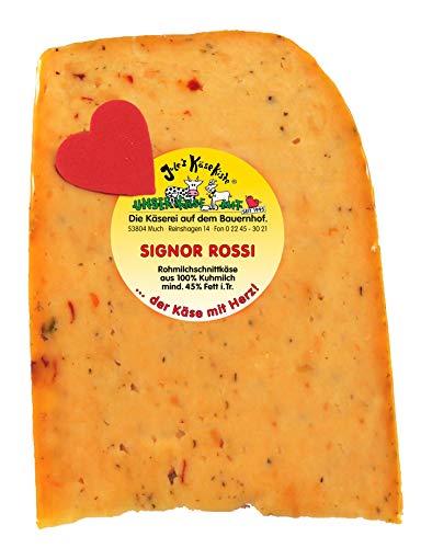 Signor Rossi| Jule's Käsekiste | Rohmilchkäse | Glutenfrei | Von Natur aus Laktosefrei (160 GR)