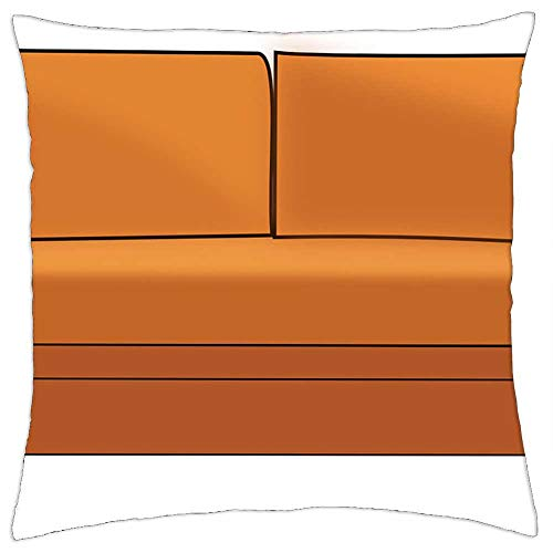 LESGAULEST Throw Pillow Cover (16x16 inch) - Sofa Couch Seat Furniture Home Room Interior