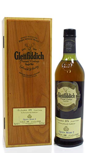 Glenfiddich - Queen Mary 2-1976 28 year old Whisky