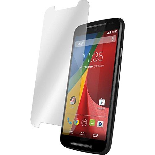 PhoneNatic 2 x Glas-Folie klar kompatibel mit Motorola Moto G 2014 2. Generation - Panzerglas für Moto G 2014 2. Generation