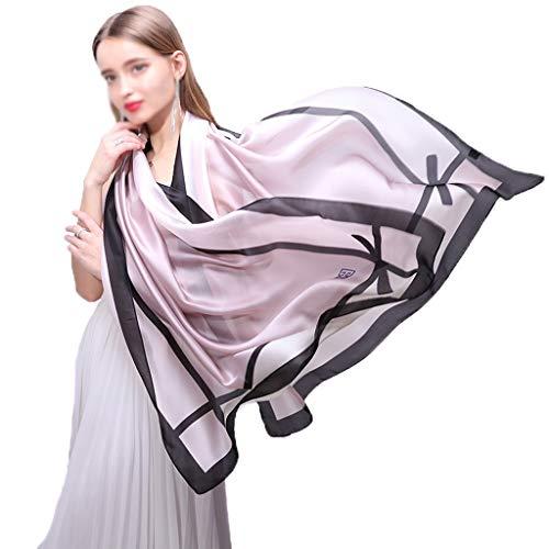 Ms. zomer dunne sectie sjaal sjaals zonnebrandcrème sjaal mode stijl met toerisme het nemen van foto's mantel Paars