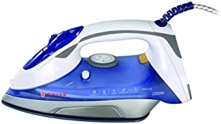 plancha Singer SNG 5.22 2200 W, 0.25 litros, Azul, Blanco [Clase de eficiencia energética A]