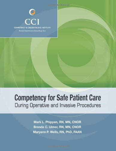 Big Sale Competency for Safe Patient Care During Operative and Invasive Procedures