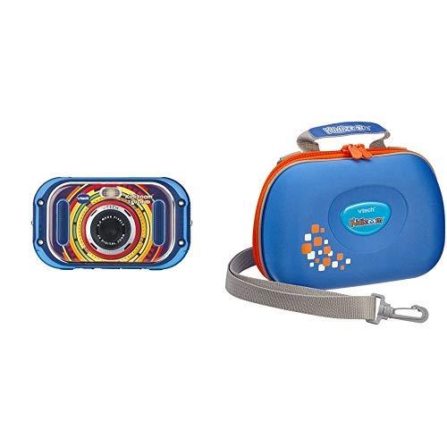 Vtech 80-163504 Kidizoom Touch 5.0 Kinderkamera Digitalkamera für Kinder Kinderdigitalkamera, Mehrfarbig &  80-201803 - Kidizoom Tragetasche