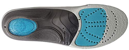 Sidas 3Feet High Arch Insoles, Blue, 39-41 EU, 6-7 UK, Manufacture Size: M