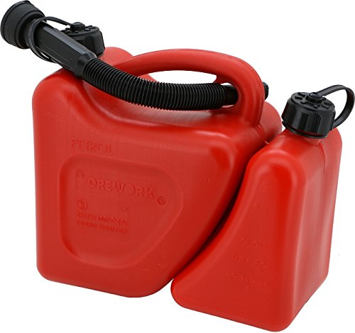 Orework Bidon Gasolina CE 5+2 Lt Rojo