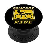 Confort Monta Recostado Bicicleta Trike Ciclismo Regalo PopSockets PopGrip: Agarre intercambiable para Teléfonos y Tabletas
