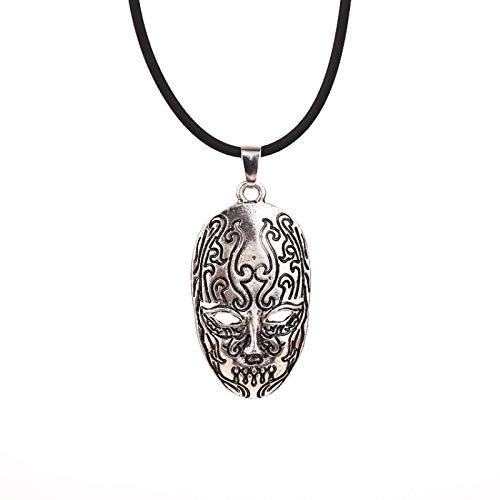 Collar De Máscara De Hombre Muerto Colgante Hierba En La Cabeza Accesorios De Collar Periférico De Película Y Televisión