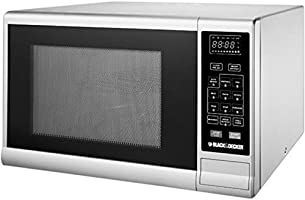 Black+Decker 30 Liter Combination Microwave Oven with Grill, Silver - MZ3000PG-B5, 2 Years Warranty