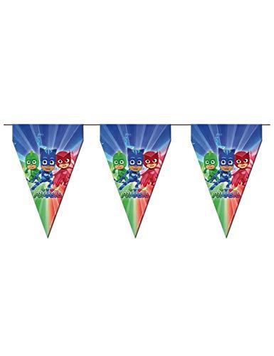 PJ Masks - Bandierina per decorazioni di feste (Verbetena 016001300)
