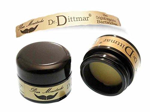 Dr. Dittmar Original Ungarische Bartwichse 16ml im Glastigel