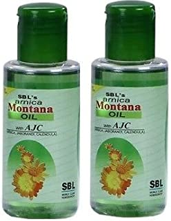 SBL's Arnica Montana Oil 200ml (Pack of 2)