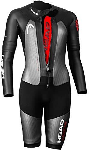 HEAD Swimrun MyBoost Pro Wetsuit Damen Black-Silver Größe M 2020 Triathlon-Bekleidung