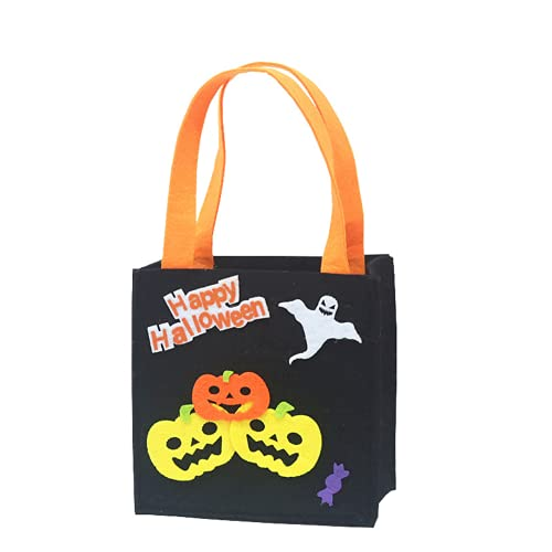 1 pz Halloween Ornament Borsa quadrata Borsa Demon Day Bambini 'S Candy Bag Present Bag Witch Pumpkin BagDauerhaft Nützlich und praktisch Nettes Design Praktisches Design und langlebig