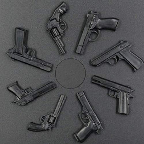 ARINKURIN 1/6スケール ハンドガン 8種セット 保証書付 プラモデル 模型 ジオラマ フィギュア 用 デザート・イーグル、コルト・パイソン 357 マグナム、 COLT M1911A1、スミス・アンド・ウエッソン M29、92式手槍、ワルサーPPK、ベレッタ M92F、FN ブローニング ハイパワー