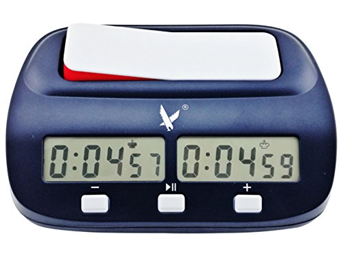 CALESI Digitale Schachuhr FIDE Approved Chess Timer