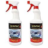 ABACUS Spray descongelante listo para usar, hasta 70 °C, 2 unidades de 750 ml (7755.2) – anticongelante para parabrisas