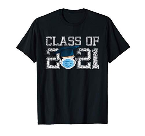 Class of 2021 Soccer Quarantine Graduation Gifts T-Shirt