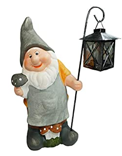 khevga garden gnome classic lantern