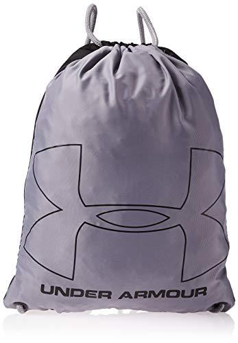 Under Armour Unisex Sportbeutel Ozsee strapazierfähiger und robuster Turnbeutel, vielseitige Sporttasche mit viel Platz, Schwarz, Einheitsgröße