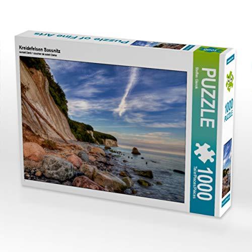 CALVENDO Puzzle Kreidefelsen Sassnitz 1000 Teile Lege-Größe 64 x 48 cm Foto-Puzzle Bild von Steffen Gierok ; Magik Artist Design