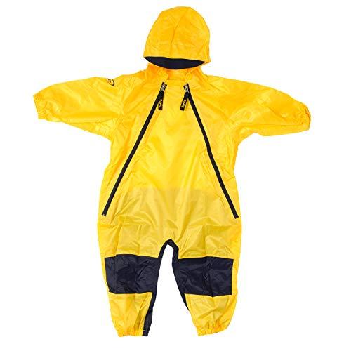 Tuffo Muddy Buddy Overalls, Yellow (3T)