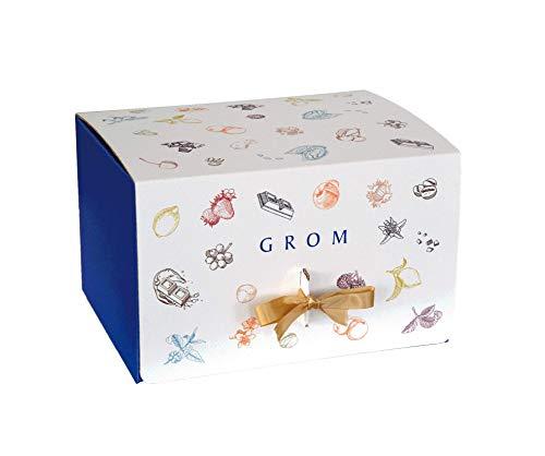 Grom Gift Box Con Biscotti, Marmellate E Creme Spalmabili