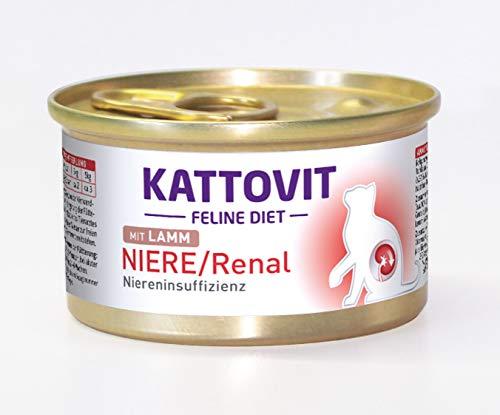 Kattovit Katzenfutter Low Protein Lamm 85 g, 24er Pack (24 x 85 g)