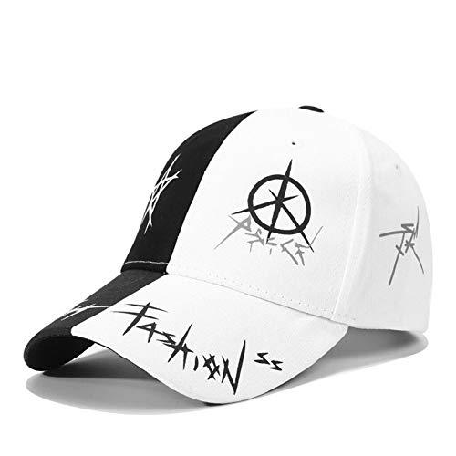 N/A Gorra Beisbol Unisex Cotton Dad Hat Gorra de béisbol Graffiti Personalizado Snapback Sombreros Deportivos de Moda para Hombres Mujeres Hip Hop Cap
