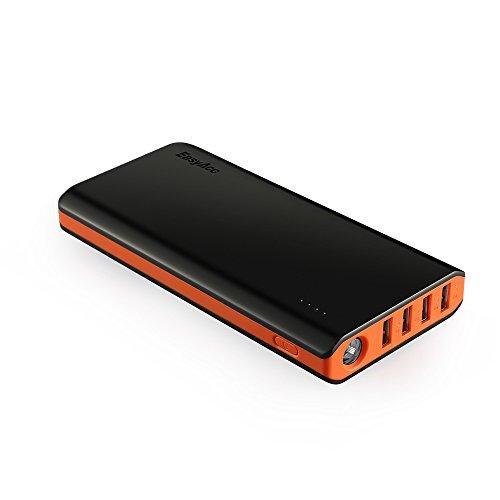 EasyAcc 26000mAh Portable Power Bank (Ingresso di 4A, Smart Output di...