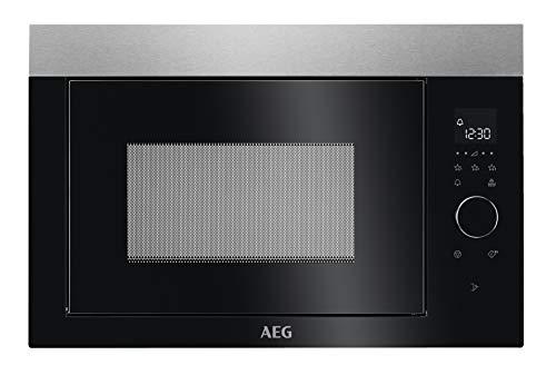 AEG MBE2657SEM 60cm Einbau-Mikrowelle / Touch-Bedienung / Display mit Uhr