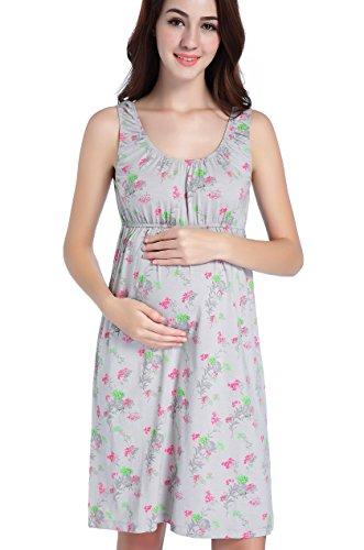 CAKYE Maternity Nursing Nightgown Pajamas...