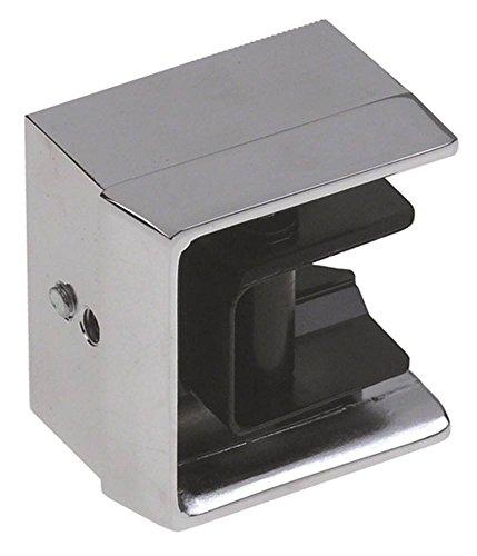 Kloben Jumbo 6000 6000-020902 - Refrigerador para somier (26-35 mm, 57 x 61 x 41 mm), color cromo