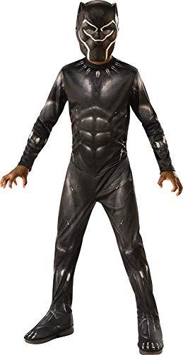 Rubie's - Déguisement Classique Officiel - Black Panther Avengers Endgame, enfant, I-700657M, Taille M 5 à 6 ans