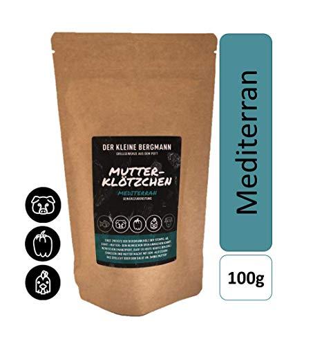 MUTTERKLÖTZCHEN - Mediterran Gewürzmischung - Grillgewürz BBQ Saucen oder trocken Rub Grillen 100g