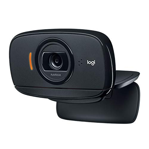 Logitech C525 Webcam Portable, HD 720p/30ips, Appels Vidéo HD Grand Ecran, Correction et Mise au Point Automatiques, Micro Antiparasites, Skype, FaceTime, Hangouts, PC/Mac/Portable/Macbook/Tablette
