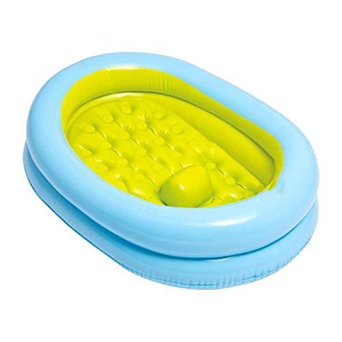 Btruely Baby Bath Tub Set - Babybadewannen-Set mit Handpumpe - 86 x 64 x 23 cm - Für 0-12 Monate,Babypool Play Box Pool