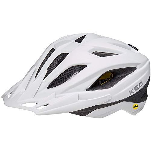KED Street MIPS Helm Kinder White matt Kopfumfang M | 53-58cm 2021 Fahrradhelm