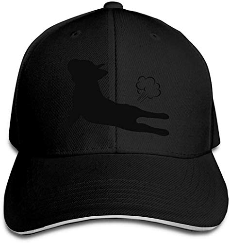 ZYZYY Cappello da baseball unisex French Bulldog Yoga Trucker Cap regolabile Peaked Sandwich Cap
