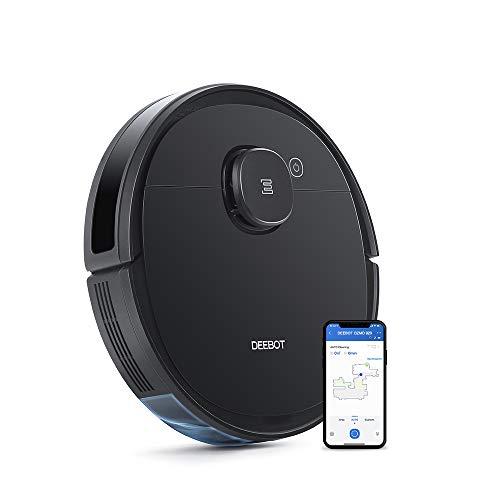 Ecovacs Deebot OZMO 920 - Robot aspirapolvere 2 in 1 con funzione di pulizia e navigazione intelligente, con controllo Google Home, Alexa e app