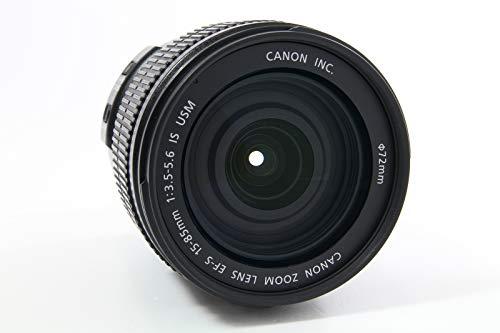 Canon EF-S 15–85mm f/3.5–5.6is USM-Objektiv SLR, 17/12, Standard Zoom, Ring USM, Canon EOS 300d, EOS 350d, EOS 400d, EOS 450d, Schwarz