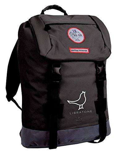 Zo-on H1641-BLACK Hengifoss Libratone Laptop-Rucksack 25 L schwarz